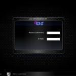 Ekran logowania do systemu.